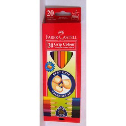 Faber-Castell 20 színű háromszög színes ceruza készlet