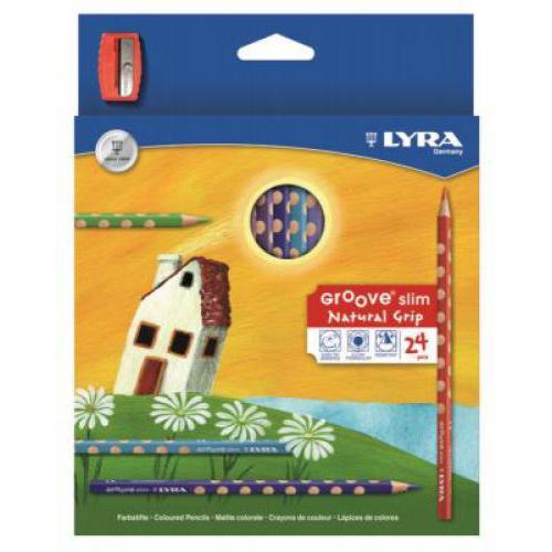 Lyra Groove Slim színes ceruza, 24 színű