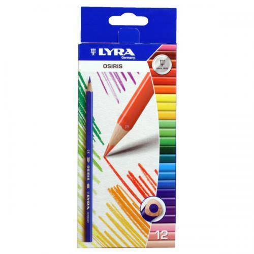 Lyra Osiris háromszög színes ceruza 12 színű