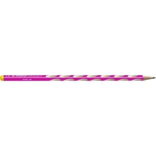 STABILO EASYgraph HB grafitceruza, balkezes, vékony, rózsaszín